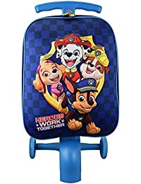 Kid's Paw Patrol Boy Blue Scootie Luggage