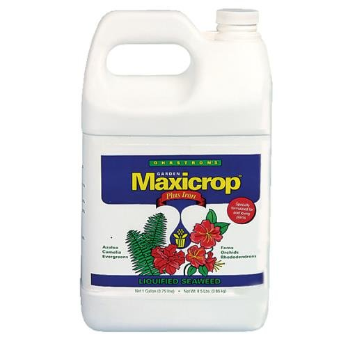 - Maxicrop Liquid Seaweed Plus Iron 0.1-0 - 1 Maxicrop Plus Iron Gallon (6/Cs)