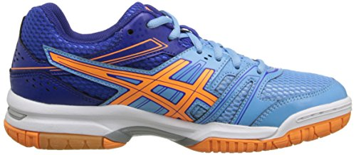 Womens Soft Blue Blue ASICS Ball Gel Rocket Volley Shoe Deep Nectarine 7 dwUUq0xaR