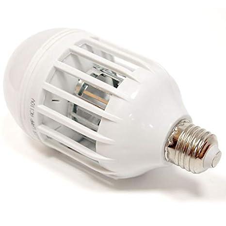 Toogoo - Lámpara LED 2 en 1 para mosquitos con bombilla E27, para ...