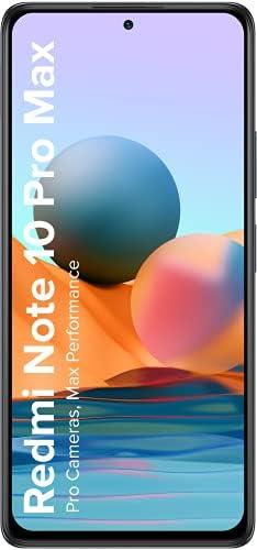 Redmi Note 10 Pro Max (Dark Night, 8GB RAM, 128GB Storage) -108MP Quad Camera | 120Hz Super Amoled Display