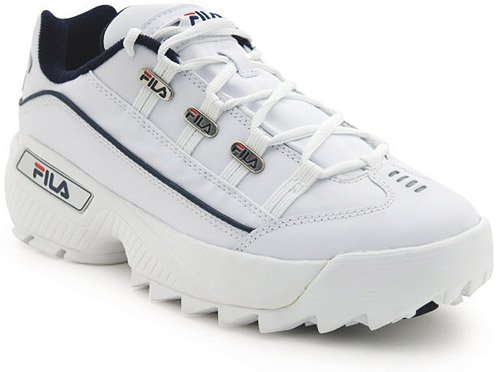 Fila Men's Hometown Extra-M, White/Peacoat/Vintage Red, 7.5 M US