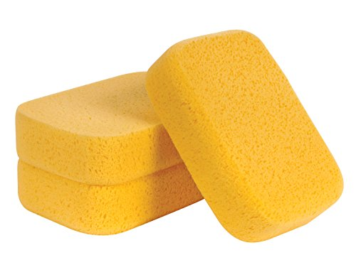 QEP 70005Q-3VP XL Grouting Super Sponge, 3 Pack -