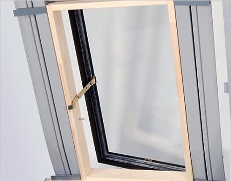 Dachfenster Ausstiegsfenster Dachausstieg Ausstieg Dachluke Aussteiger 45x73 nach oben oder seitlich zu /öffnen