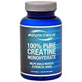Cheap BodyTech 100 Pure Creatine Monohydrate 2250 MG Supports Muscle Strength Mass, 33 Servings (100 Capsules)