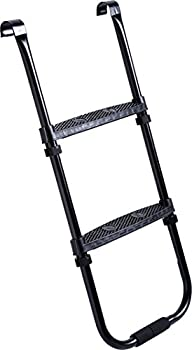 Pure Fun Trampoline Accessory: Trampoline Ladder With 2 Platform Steps 0