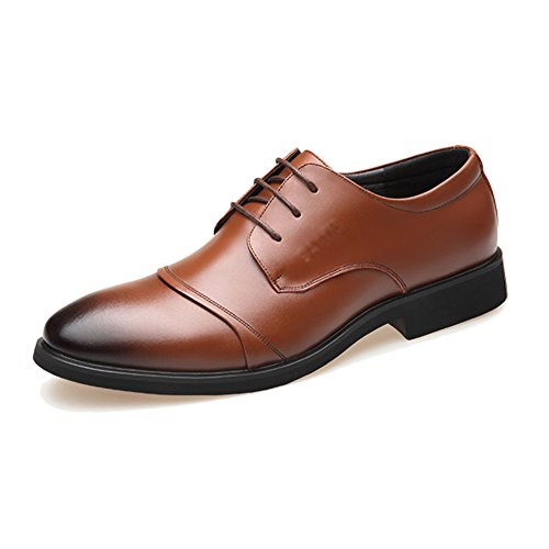 Noir En Plein En Hommes Suit Air Yra Respirant Chaussures D'affaires Tip Chaussures Parti Business Hommes Été C Pied Pour Dentelle À Casual Cuir Awaqax8p