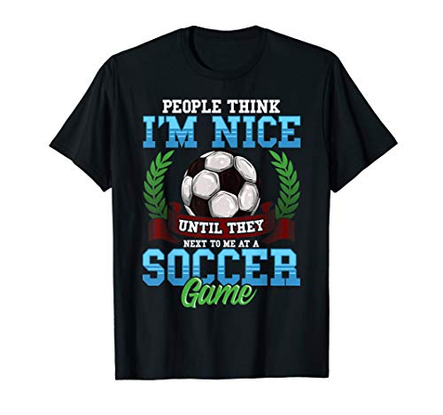Soccer T-Shirt Funny Quotes Humor Sayings Sports Gift - T-shirt Soccer Quote