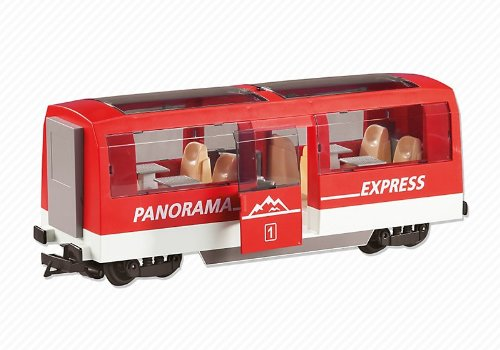 (Playmobil Add-On Series - Passenger Train Car)