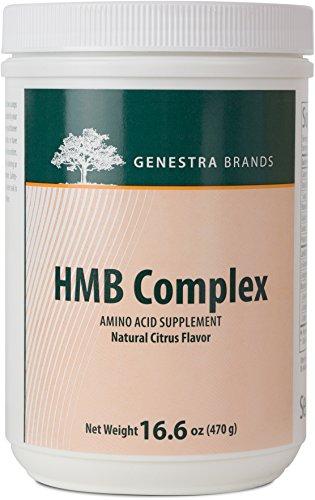 Genestra Brands - HMB Complex - Vegetarian Amino Acid Powder Supplement - Natural Orange Flavor - 16.6 oz (470 g) by Genestra Brands