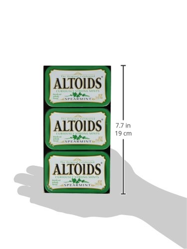 Altoids Curiously Strong Mints - Spearmint 1.76 oz (Pack of 6) by Altoids (Image #4)