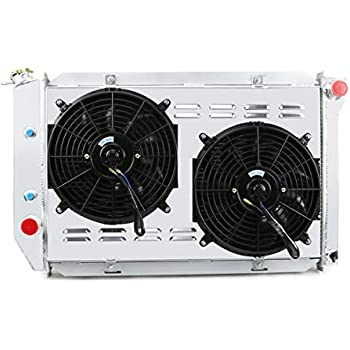 3 ROW ALUMINUM RADIATOR Fans FOR 1969-1973 FORD MUSTANG COUGAR FORD CARS AT