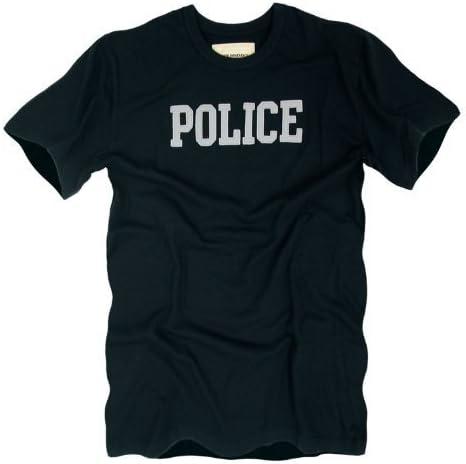 Rapiddominance Policía Basic Felt aplique Tee, Black, X-Large by rapid Dominance: Amazon.es: Deportes y aire libre