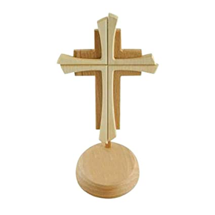 Kruzifix24 Devotionalien Stehkreuz Stand Cruz 2 De Madera Barnizada