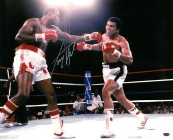 Signed Larry Holmes Photograph - 16x20 v - Larry Holmes Photograph Shopping Results