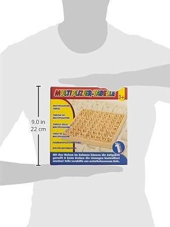 Tabellone per moltiplicazioni small foot company 7392