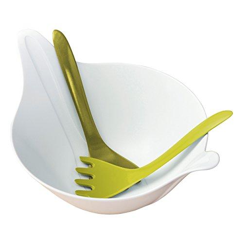 LEAF 2.0 Salad bowl with servers 4l