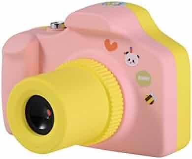 Kids Digital Camera ,CamKing Mini 1.5 Inch Screen Children's Camera (Pink)