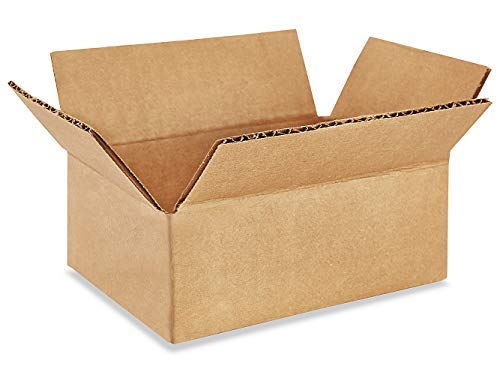 Botad 3 Ply Corrugated Golden Plain Box / Shipping Boxes / Small Gift Packaging Boxes 6 inch x 5 inch x 2 inch (50) Price & Reviews