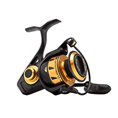 The Penn Spinfisher VI features IPX5 sealing so whether it gets hit with a wave, or you let it ride in the spray all the way home, you don't have to worry about saltwater getting into the gearbox or drag system. Penn HT-100 drag washers are h...