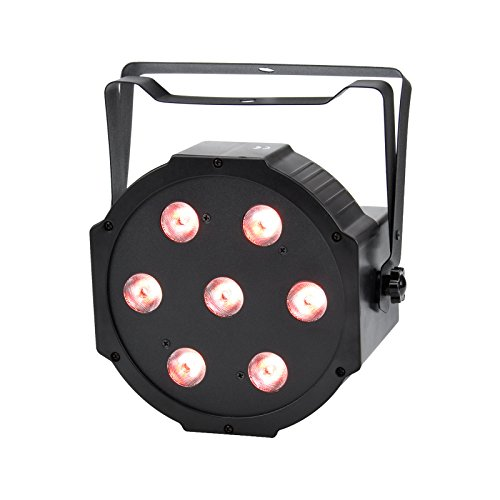 TSSS  Super Magic RGBW LED Effect Stage Light Projector DMX512 Flat PAR Can Lights for DJ Club Ball Christmas Party Wedding
