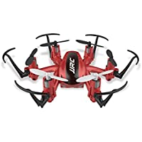 optimal5 JJRC H20 Quadcopters Professional Mini Drones Flying Helicopter (Red)