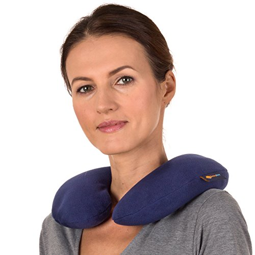 Sunny Bay Microwavable Heated Neck Pillow: Large Heat Therapy Pad for Sore Neck & Shoulder Muscle Pain Relief - Thermal, Personal, Reusable, Non Electric Hot Pack Pads or Cold Compress ()