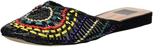 Dolce Vita Women's Baez Mule, Black Multi Woven, 8 M US