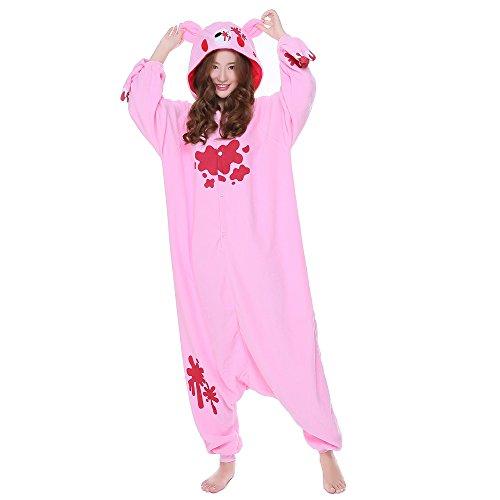 Zorabridal Gloomy Bear Kigurumi Unisex Adult Pajamas Onesie Animal Sleepsuit (Medium, (Anime Bear)