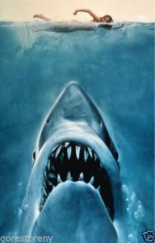 """Jaws  Movie Poster 24""""x36"""""""