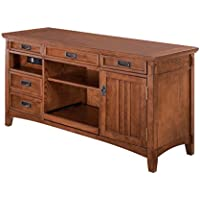 Casoria Casual Wood Medium Brown Large Credenza