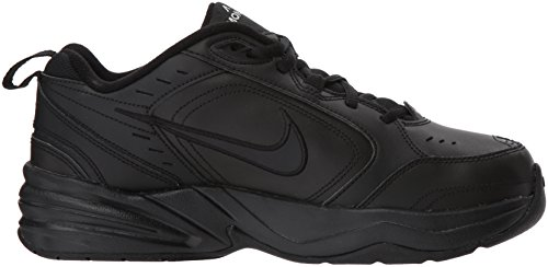 Nike Mens Air Monarch Iv Scarpa Sportiva, Nero / Nero, 10.5 Regolare Us