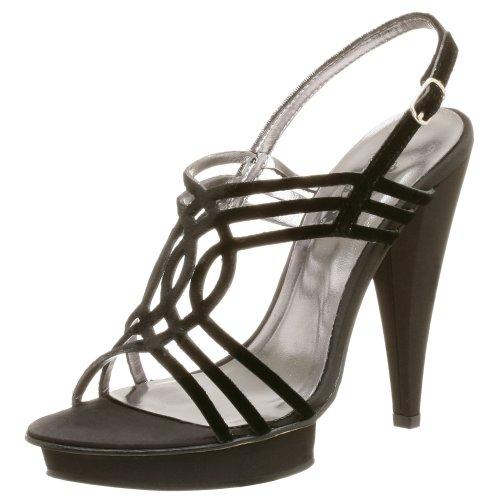 JLO Women's Missy Platform Sandal,Black Velvet,10 - Jennifer Black Dress Lopez