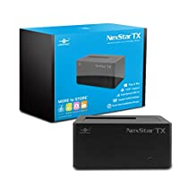 Vantec NexStar TX Single Bay USB 3.0 Hard Drive Dock , (NST-D328S3-BK)