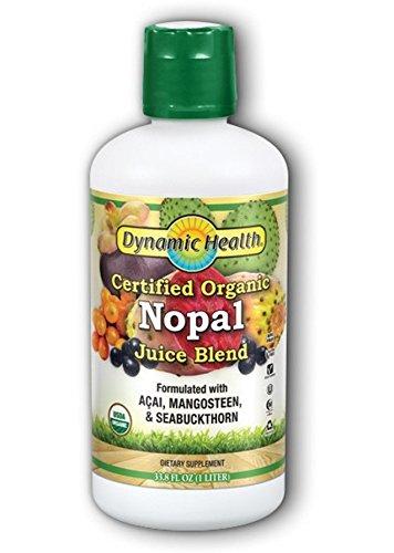 (Dynamic Health Organic Certified Juice Blend, Nopal, 33.8 Fluid Ounce)