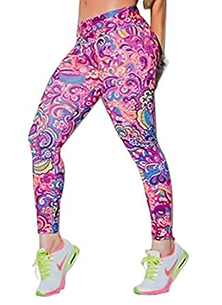 Women's Training Yoga Pants Leggings Tights One Size (Infinity)