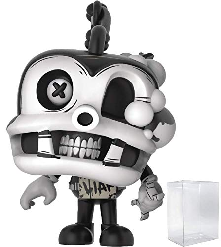 (Funko Pop! Games: Bendy and The Ink Machine - Fisher Vinyl Figure (Bundled with Pop Box Protector Case))