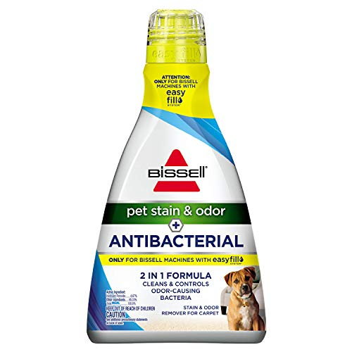 Bissell Pet Stain & Odor Plus Antibacterial 2 in 1 Carpet Formula