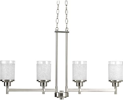 Progress Lighting P4619-09 Chandeliers, Brushed Nickel
