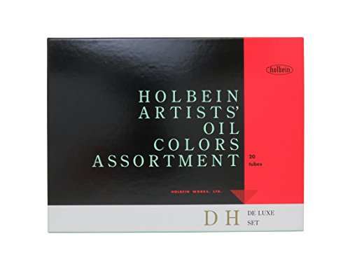 Holbein Oil H903 Set Of 20 (Holbein Tube)