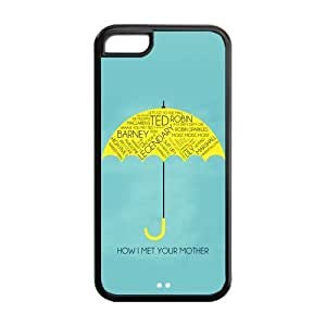 5C Phone Cases, How I Met Your Mother Hard TPU Rubber Cover Case for iPhone 5C