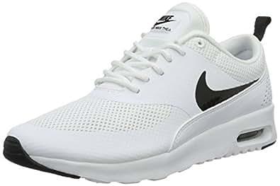 Nike Women's Air Max Thea White/Black Running Shoe 5 Women US