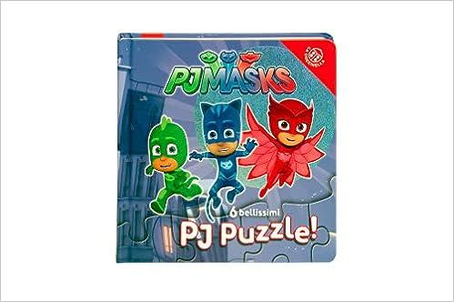 Pj Masks. 6 bellissimi Pj puzzle! Ediz. a colori : Amazon.es ...