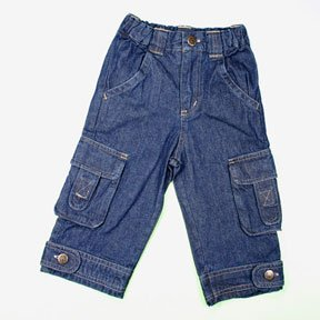 Denim Cargo Jeans for Infants