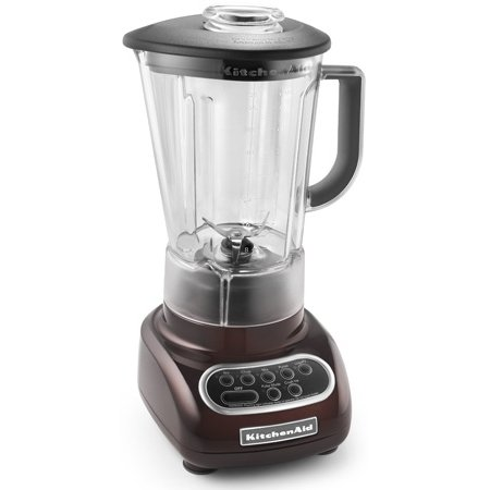 kitchenaid ksb560es 5-Speed Espresso Color Blender with Polycarbonate almost Unbreakable Shatter Resistant Jar and an extreamely powerful Motor