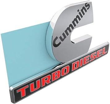 For DODGE RAM  Cummins Turbo Diesel Decal Emblem Nameplate Badge OEM  GENUINE