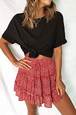 long flare skirt and top