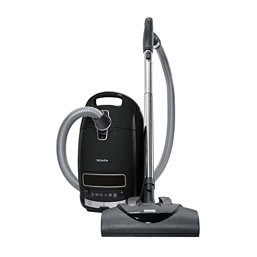 Miele Complete C3 Kona Canister Vacuum-Corded, Obsidian Black