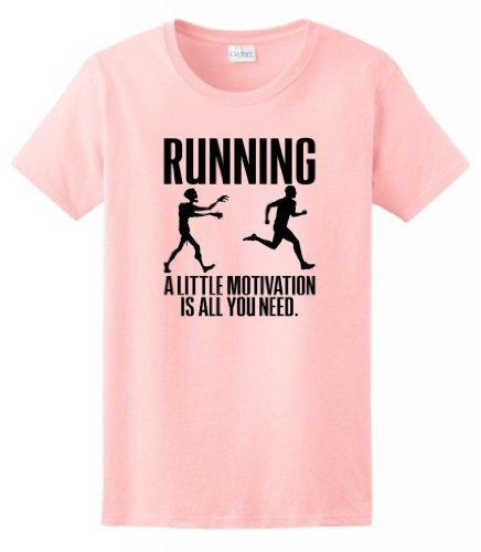 Running Little Motivation Zombie T Shirt