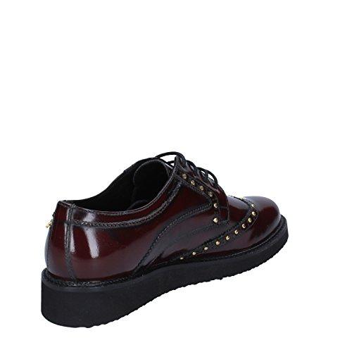 Cuir Chaussures Élégantes Femme Bordeaux Brillant Braccialini 4zqt00